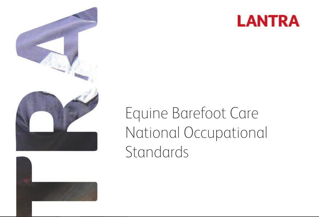 LANTRA's Equine Barefoot National Occupational Standard